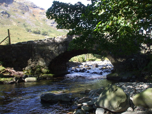 Netherbeck Bridge, Wast Water