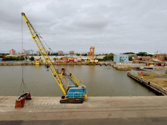 Waterside Crane at Albert Wright Dock