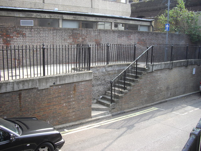 Stairway in Leamore Street