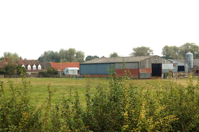 Napton Road Farm from the southwest