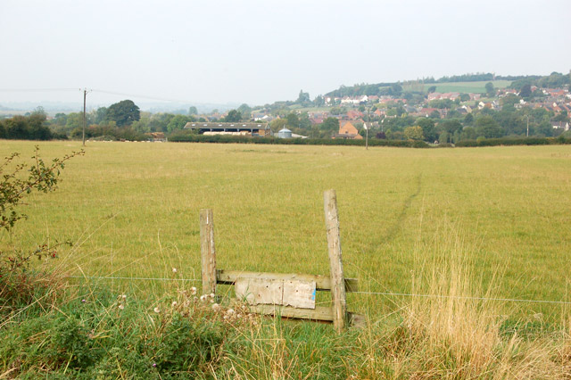Public footpath west to Napton (2)
