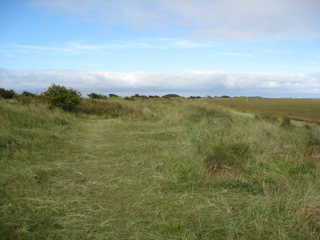 Footpath on the Dunes near Donna Nook