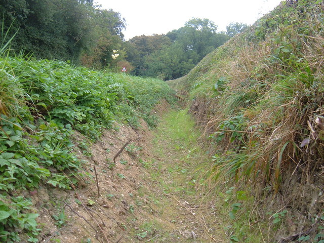 Roadside Drainage Ditch (Dry)