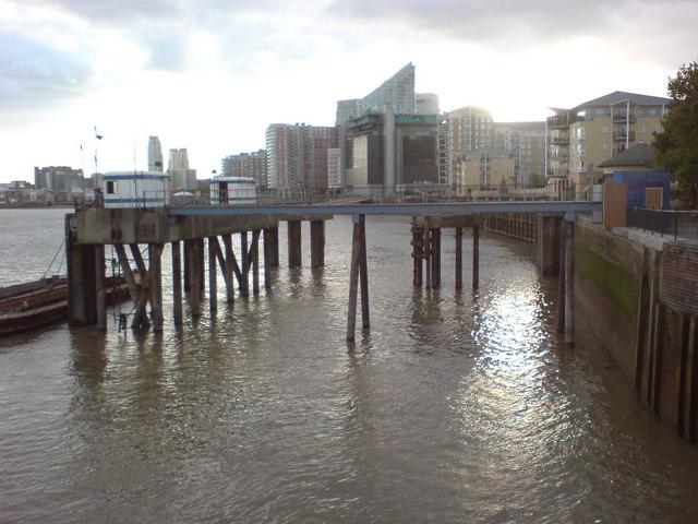 Wharf at East India Dock Basin
