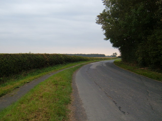 Minor Road Towards the A164
