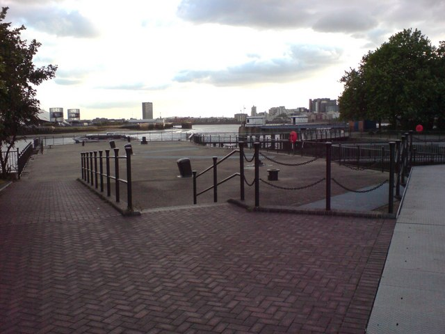 Riverside Area, East India Dock Basin