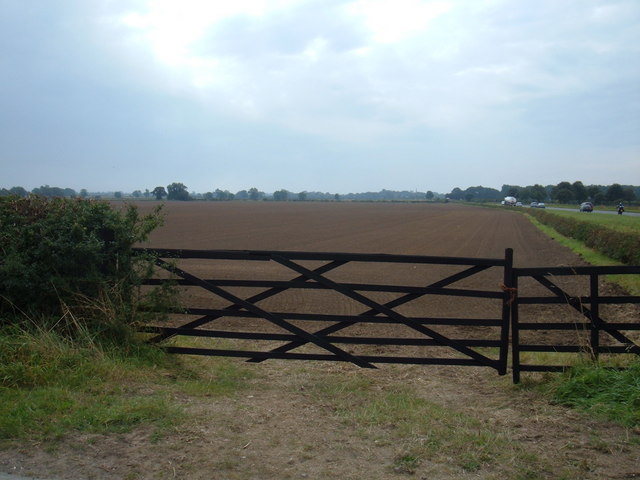 Gated Field Entrance off Beswick Road