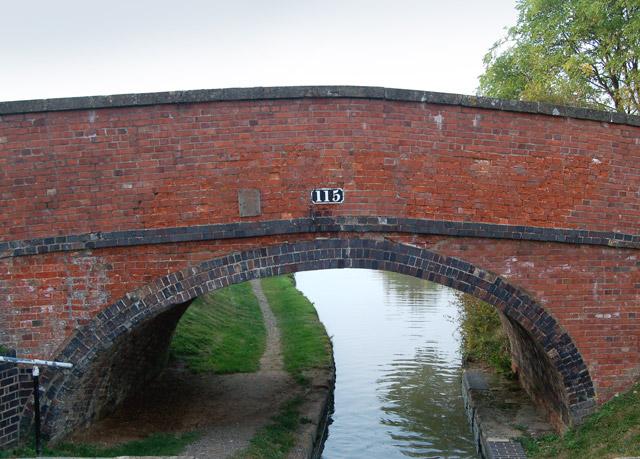 Bridge 115, Oxford Canal, Napton