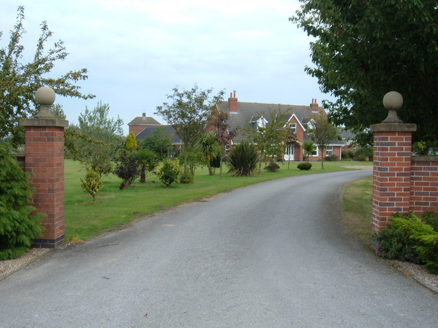 Entrance to Aike Grange Stud