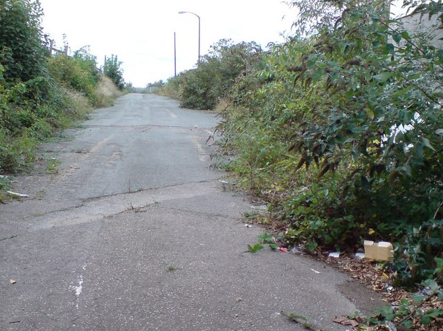 Access Road into Royal Victoria Dock from North Woolwich Road