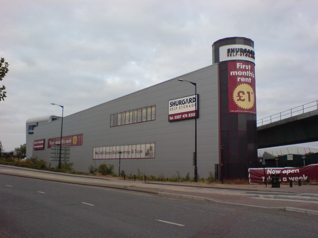 Self Store Warehouse, North Woolwich Roundabout