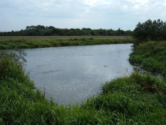 The River Hull near Aike