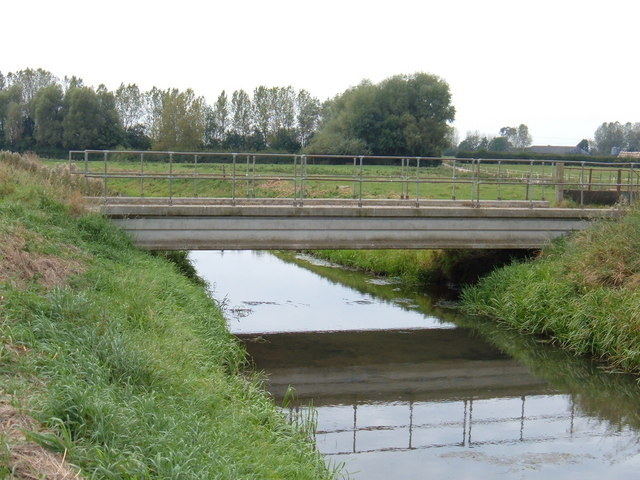 Bridge over Beverley and Barmston Drain
