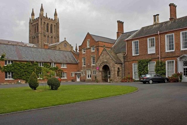 Bishop's Palace, Hereford