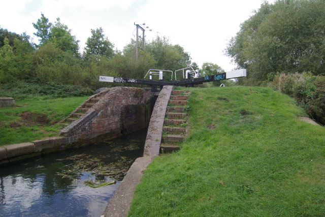 No 16 Lock, Northampton Arm, Grand Union Canal