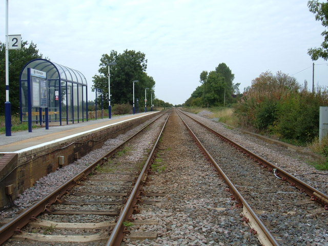 Railway Line towards Driffield