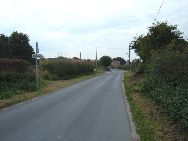 Approaching Leconfield