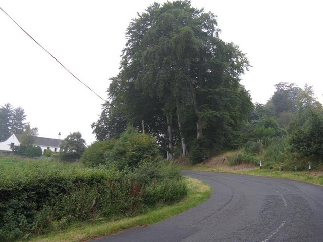 The road to Silverburn