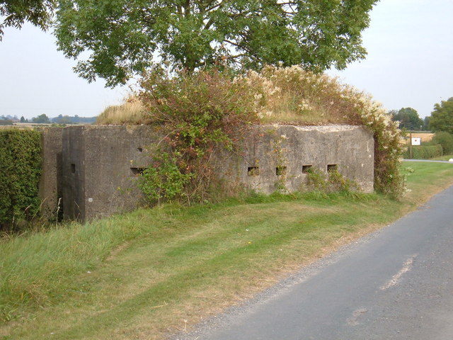 Wartime Pillbox, Scorborough Lane