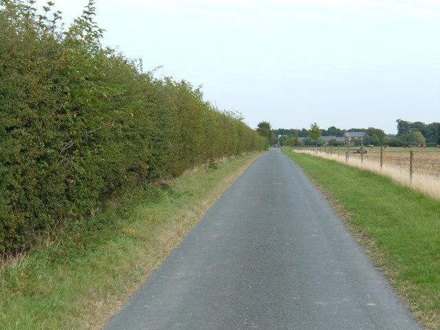 Track to  Decoy Farm