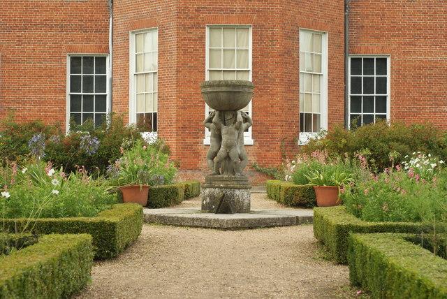 Garden at Hatchlands Park, Clandon, Surrey