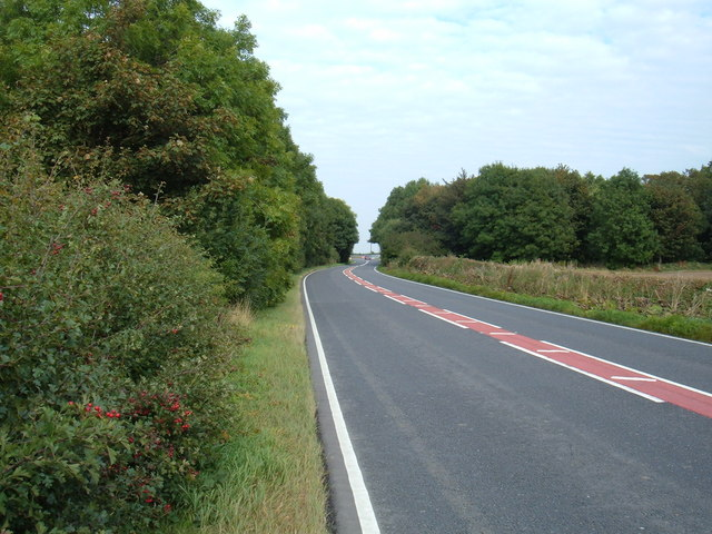 A164 towards Driffield