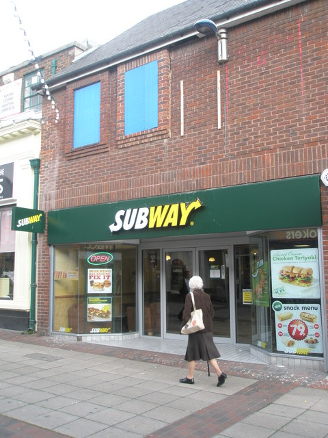 Subway in Cosham High Street