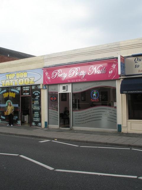 Pretty Pink Nails in Cosham High Street