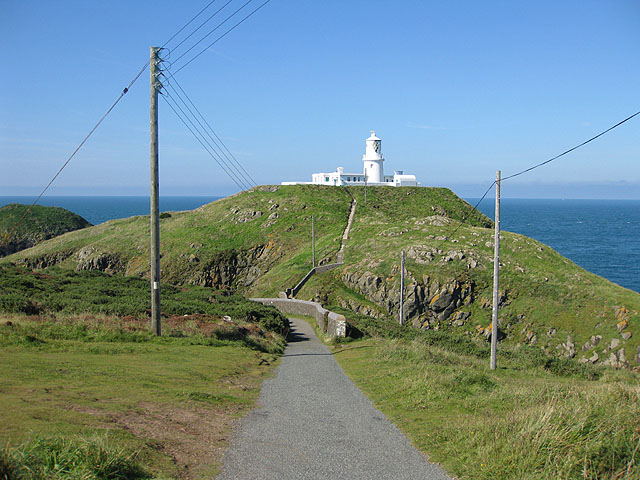Strumble Head Lighthouse, Ynys Meicel