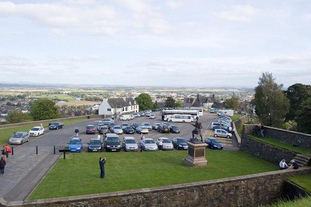 The Esplanade, Stirling Castle