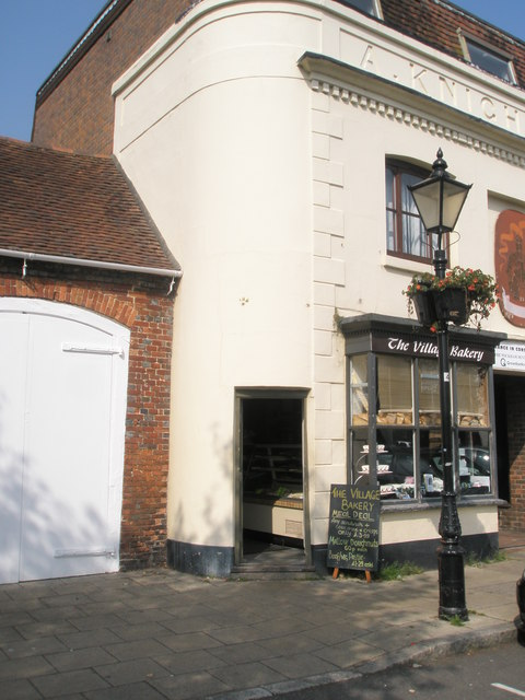 The Village Bakery in The Square, Wickham