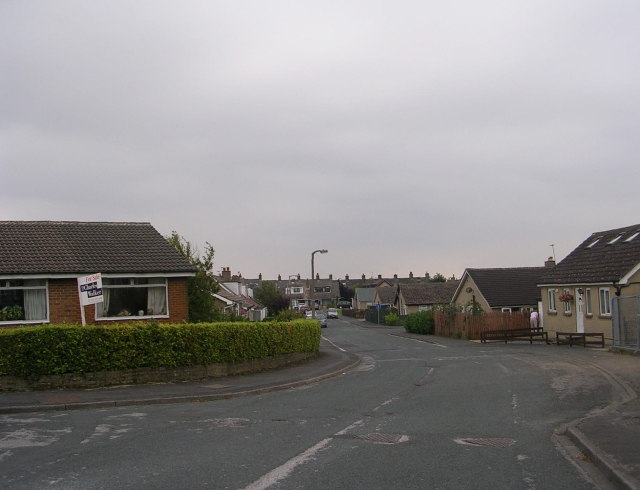 Coniston Avenue - viewed from Parkfield Drive