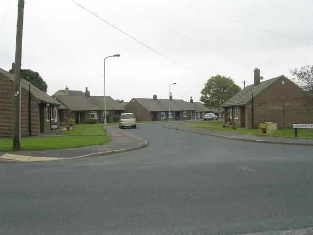 Ashbourne Crescent - New Park Road