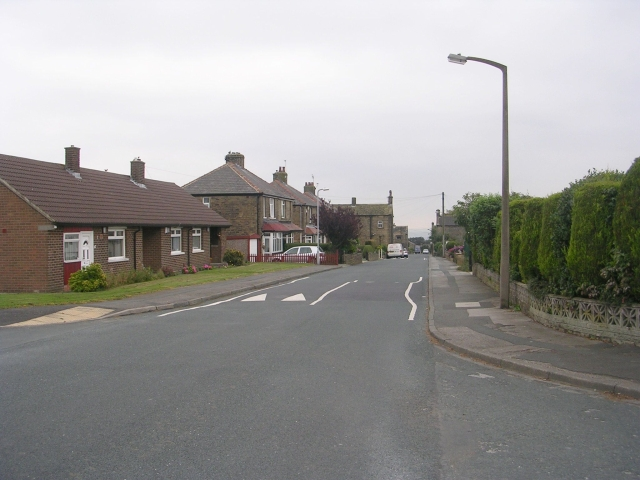 New Park Road - viewed from Parkway