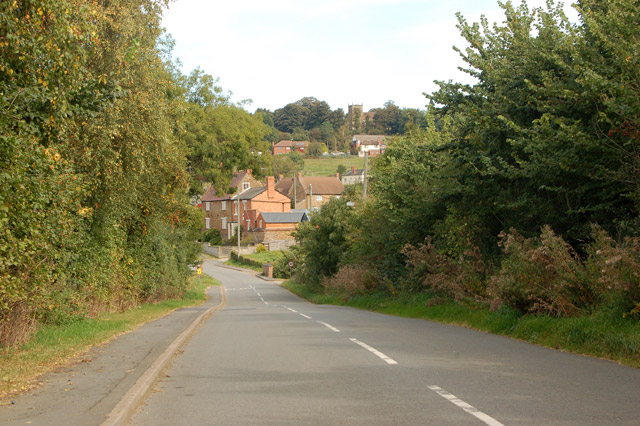 Down the hill from Chapel Green to Napton