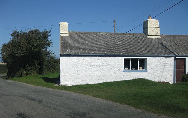 Roadside cottage near Strumble Head
