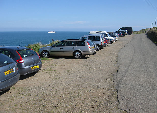 Upper car park, Strumble Head