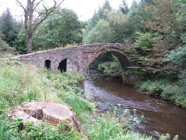 'Roman' Bridge over the North Esk