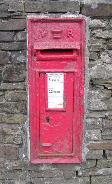 Victorian Post Box - Scarlet Heights, near Park Lane