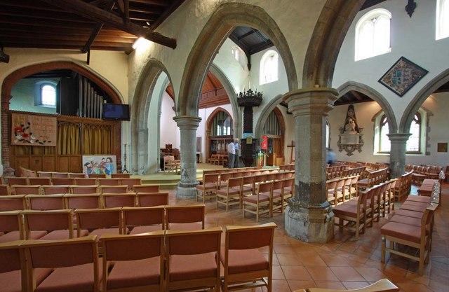 St Mary the Virgin, Great Baddow, Essex - Interior