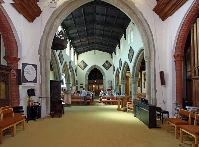 St Mary the Virgin, Great Baddow, Essex - West end