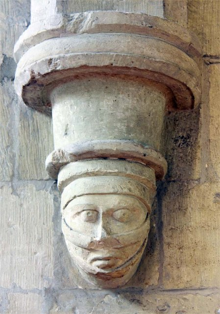 St Mary the Virgin, Great Baddow, Essex - Corbel
