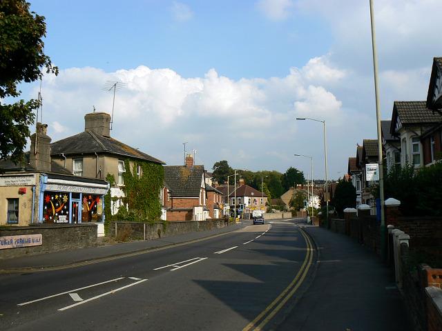 East along Kingshill Road, Swindon