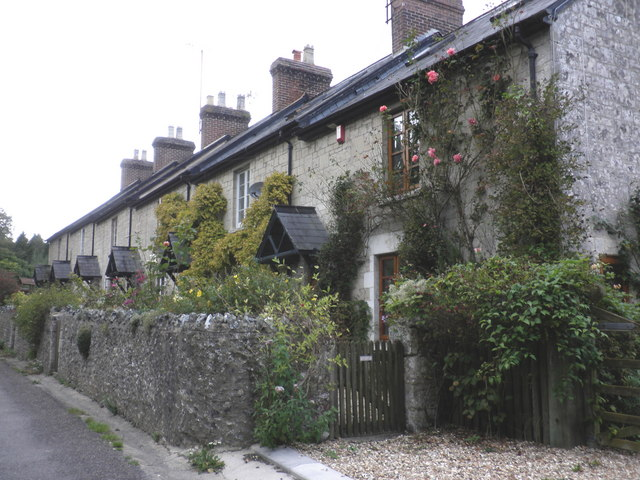 Cottages, on the road to Branscombe