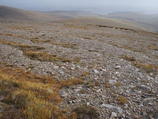 Knap of Trowieglen ridge