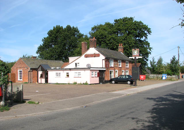 The King's Head public house in Station Road