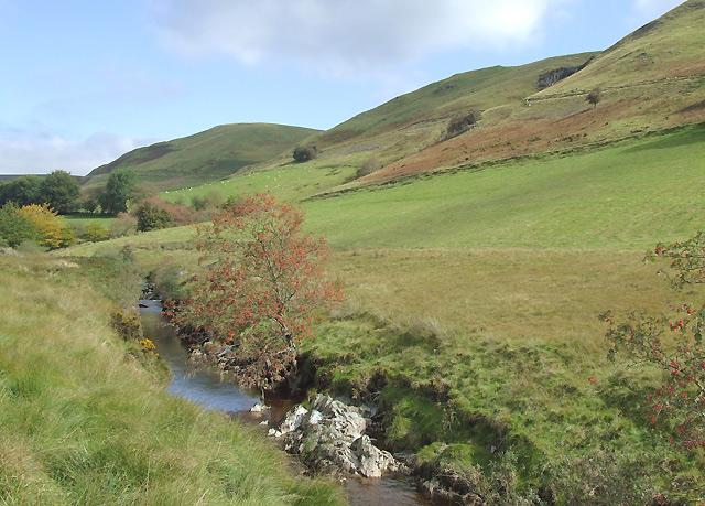 Afon Tywi north of Llyn Brianne