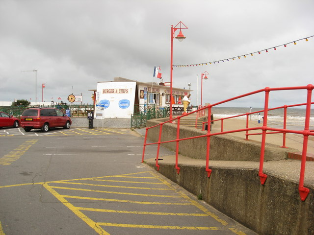 Mablethorpe - Fast food on the Seafront