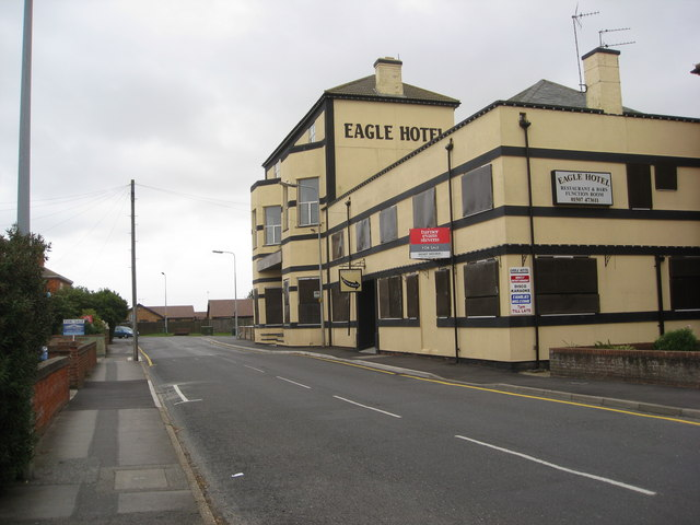 Mablethorpe - Victoria Road and the Eagle Hotel