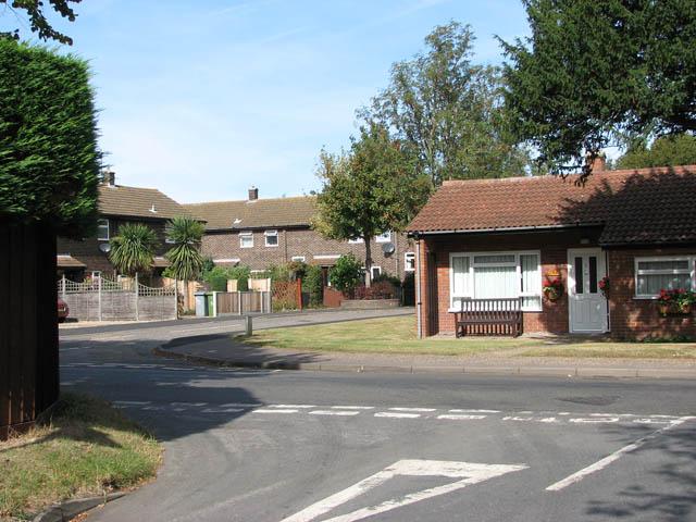 Junction of Buckenham Road with Norwich Road